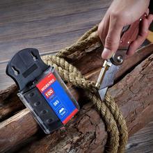 Workpro lâminas de faca utilitária, lâminas originais resistentes para faca sk5 lâminas de faca de aço 100 pçs/lote