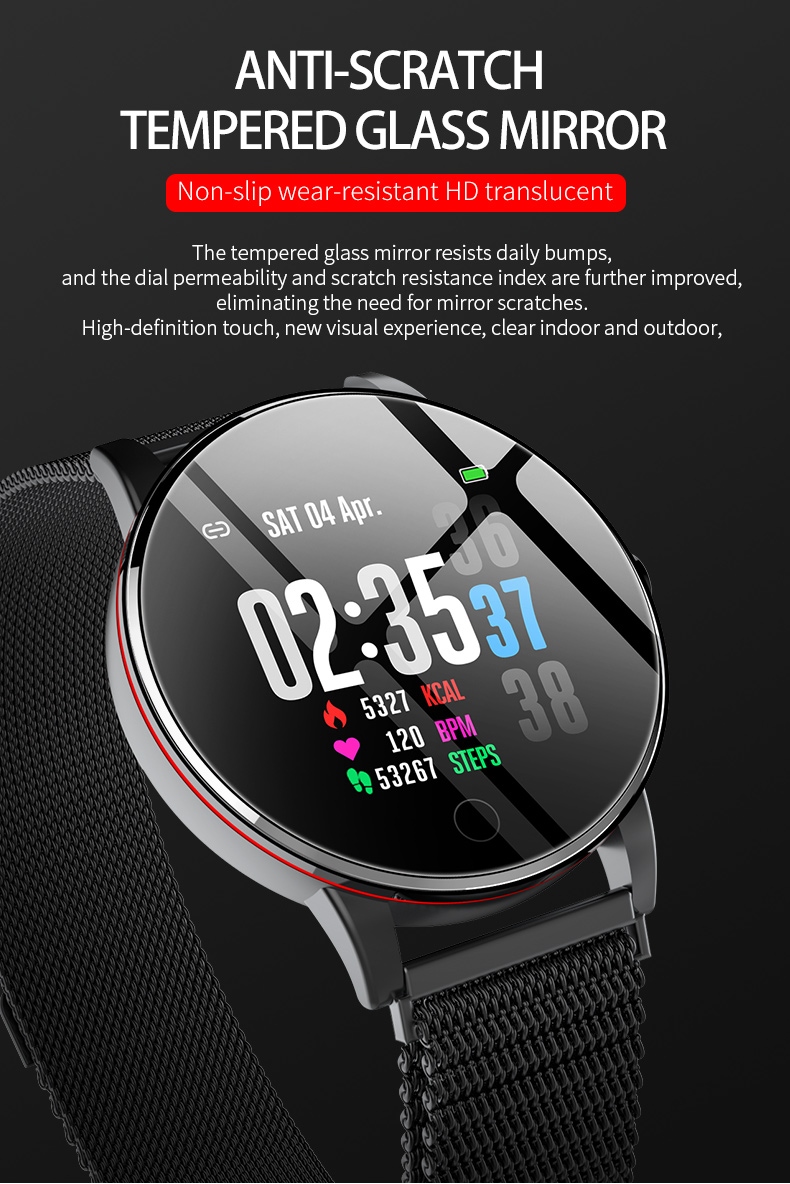 Montre intelligente Smartwatch IP67