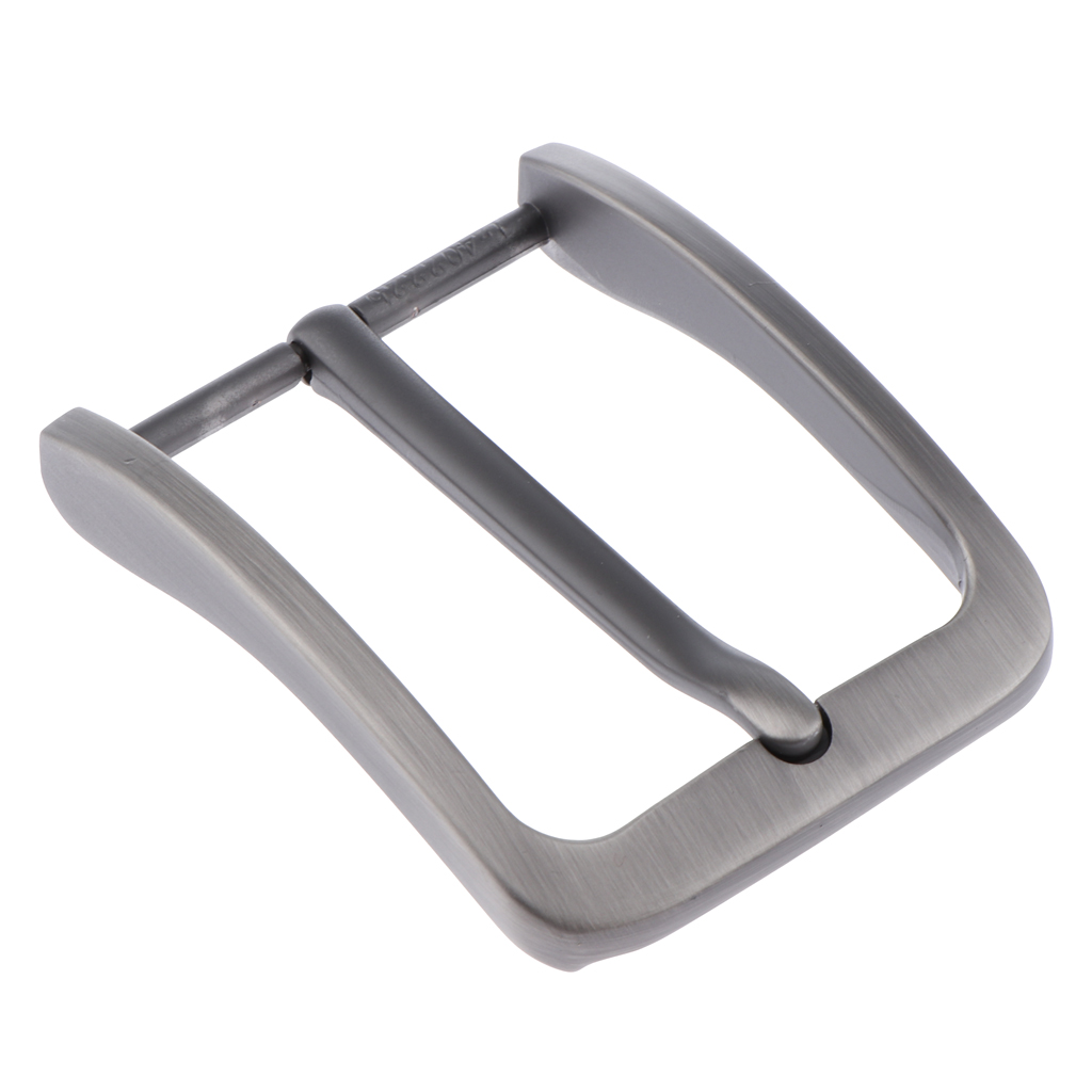 2pcs Men Alloy Antique Belt Buckle Single Prong Rectangular Pin Buckle Parts Fit For 38-39 Mm Wide Belt