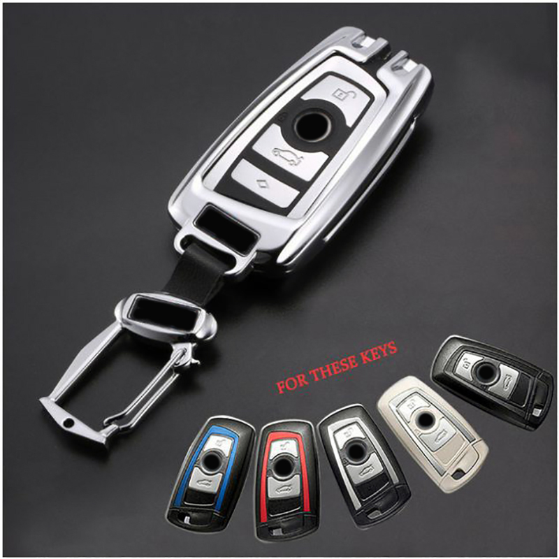 Auto Car Styling Key Fob Cover Cases For BMW X3 X5 520 525 F30 F10 320i M3 M4 M5