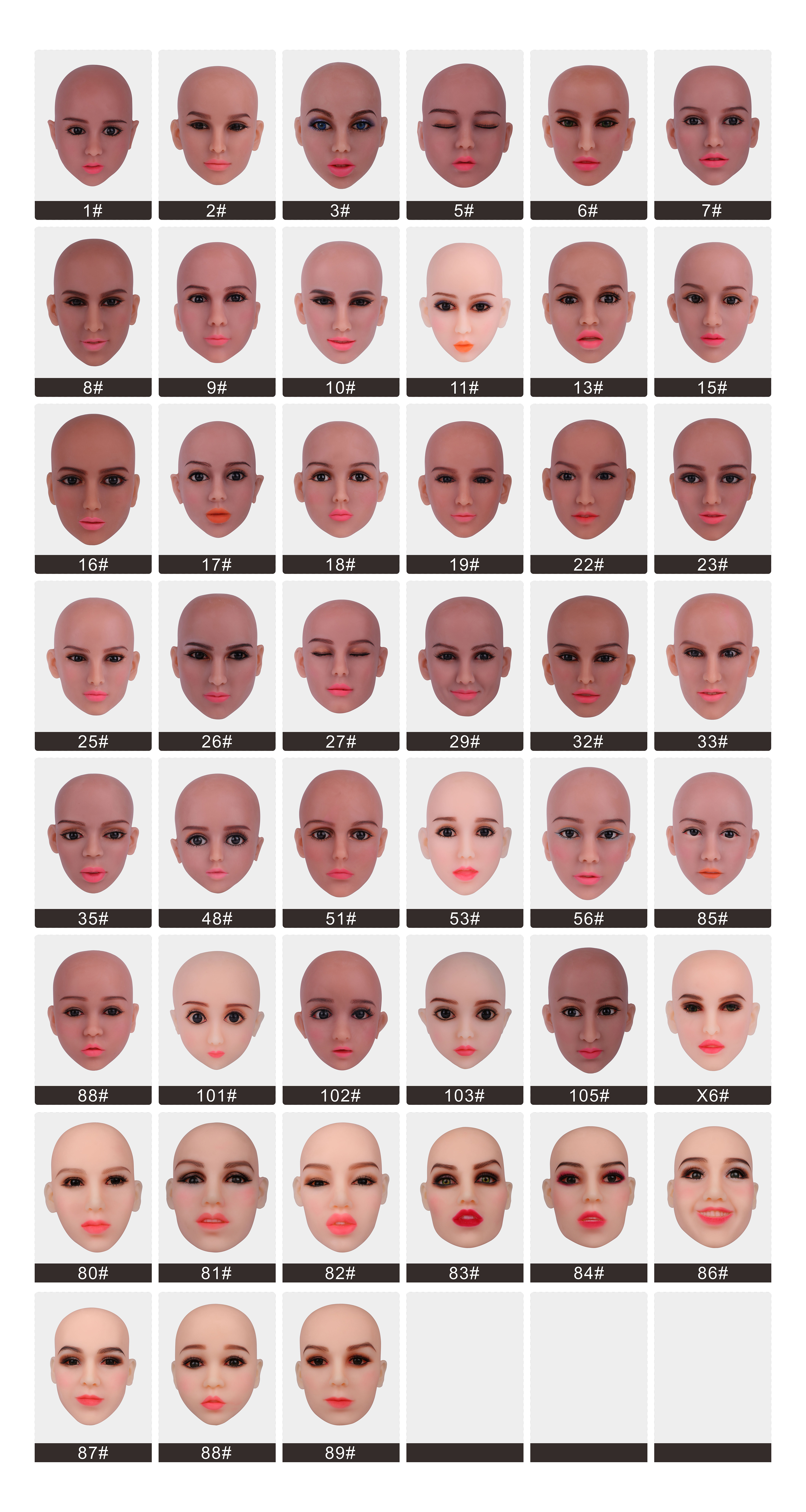 Sex Doll Head For Silicone Love Doll More Than 136cm