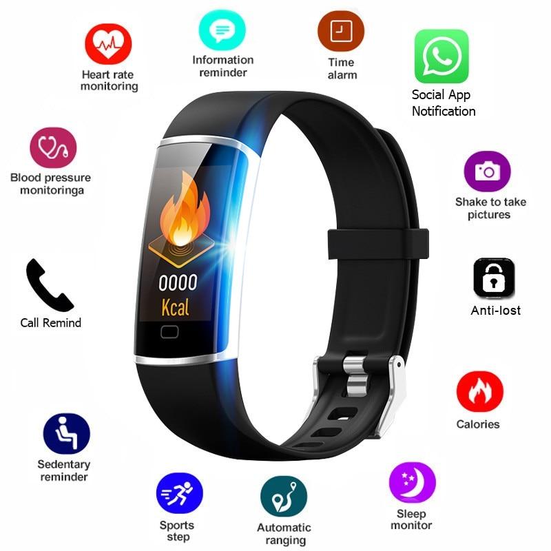 NEW fitness bracelet Smart band Measuring blood Pressure Wristband Waterproof Activity Tracker Heart Rate health bracelet Innrech Market.com