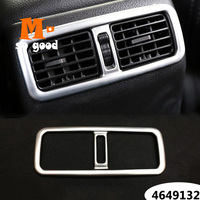 For Nissan X Trail X Trail XTrail T31 2008 2013 ABS Chrome Rear Armrest Air Conditioning AC Vent Outlet Cover Trim Car Accessory|Interior Mouldings| |  -