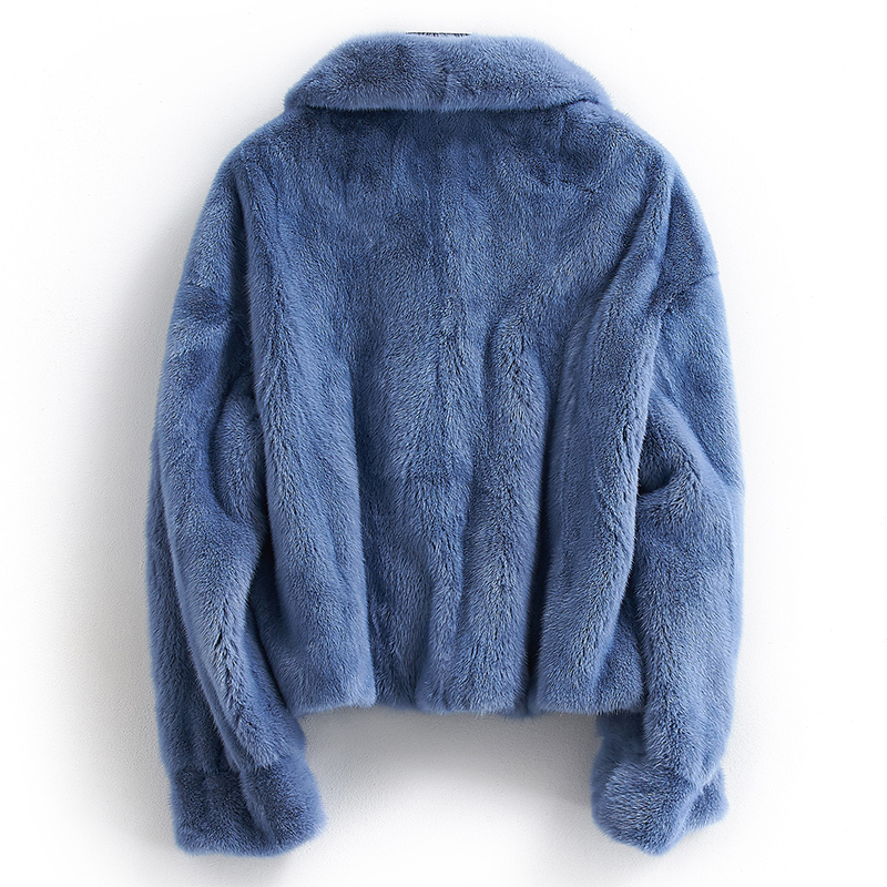 Coat Mink Real Female Natural Fur Coats Winter Jacket Women Luxury Warm Jackets For Women Clothes 2020 Manteau Femme MY S S