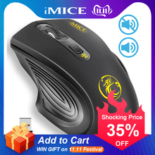 USB Wireless Mouse 2000DPI Adjustable USB 2 0 Receiver Optical Computer Mouse 2 4GHz Ergonomic Mice