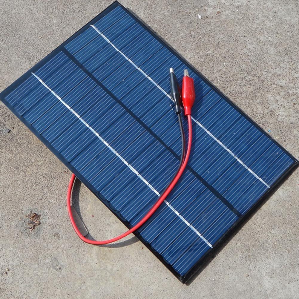 18 Volt 4.2 Watt Solar Panel Module For Cell Phone Charger 200*130*3MM US Solar Phone Charger Solar Light Module