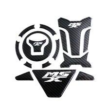 Karbon evrensel motosiklet tankı ped koruyucu süslü çıkartmalar için Fit Honda MSX 125