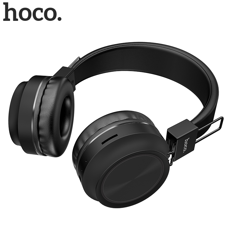 HOCO W25 Wireless Headphones Bluetooth Headset Foldable <font><b>Gaming</b></font> <font><b>Earphones</b></font> <font><b>With</b></font> <font><b>Microphone</b></font> For Samsung Huawei Xiaomi mobile Phone image