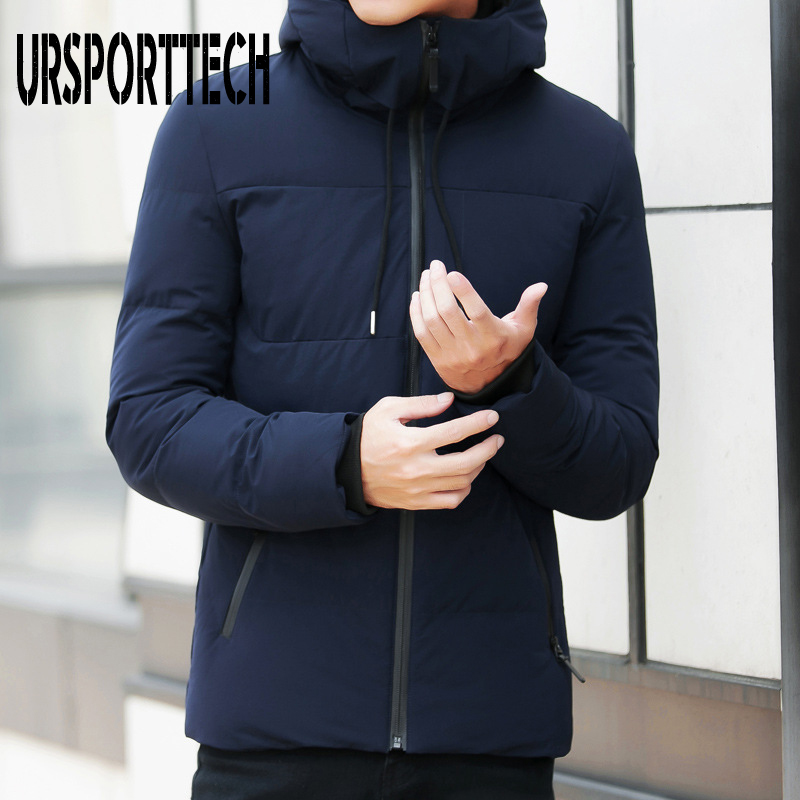 Winter Jacket Men Parka 2019 New Casual Hooded Fashion Winter Coat Male Parkas Outerwear Thick Warm Slim Fit Coats Plus Size 4XL