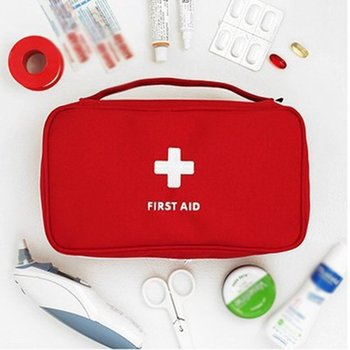 Portable Camping First Aid Kit Emergency pill Bag Storage Case Waterproof Car kits bag Outdoor Travel Survival kit Empty bag survival red waterproof 2l first aid bag emergency kits empty travel dry bag rafting camping kayaking portable medical bag