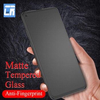 Перейти на Алиэкспресс и купить Матовое закаленное стекло против отпечатков пальцев для Oppo A52 A92S ACE2 A12E A31 2020 K5 2019 Защитная пленка для экрана Realme XT 6 Pro