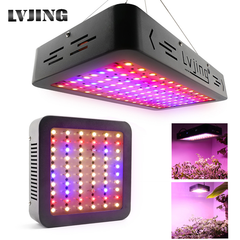 New Design Full Spectrum LED Grow Light 600W/1200W Plant Lamp For Indoor Nursery Flower Fruit Veg Hydroponics Tent Box Fitolampy