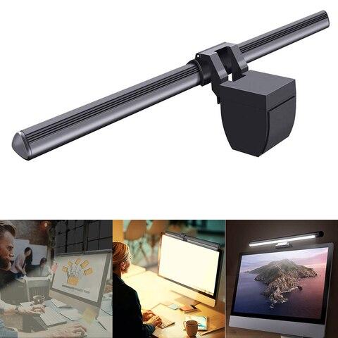 lampada moderna monitor de luz leitura usb power 5v ajustavel led computador tela 5w duravel