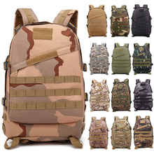 цена на Outdoor Tactical Backpack Molle Army Military Assault Bags Camouflage Sport Backpacks Trekking Hunting Camping Hiking Travel Bag