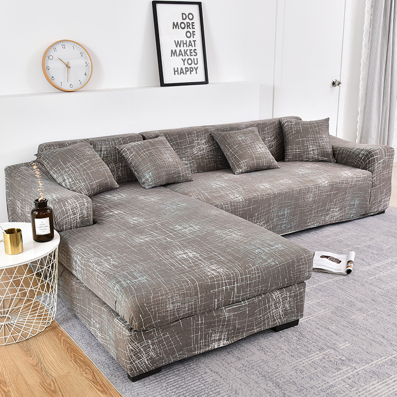 Купить 1 шт/2 шт чехол для дивана с геометрическим узором l образный