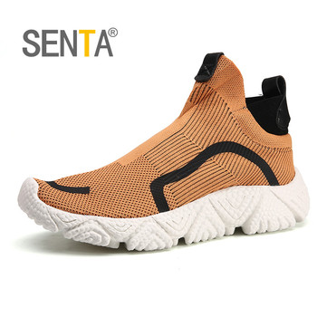 New Breathable Running Shoes for Men Lightweight Man Sneakers Outdoor Cushioning Athletic Sport Jogging Shoes 46 Zapatillas cinessd new lightweight cushioning running shoes breathable sport shoes comfortable sneakers men athletic training jogging shoes