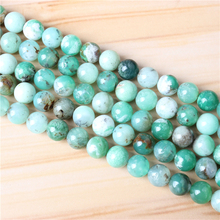 Australian Jade 4/6/8/10/12mm Natural Gem Stone Polished Smooth Round Beads For Jewelry Making DIY Bracelets
