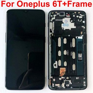 Image 3 - AAA המקורי AMOLED LCD תצוגה עבור Oneplus 6T A6010 A6013 מגע מסך Digitizer עצרת 6.41 אינץ עם מסגרת + מתנות