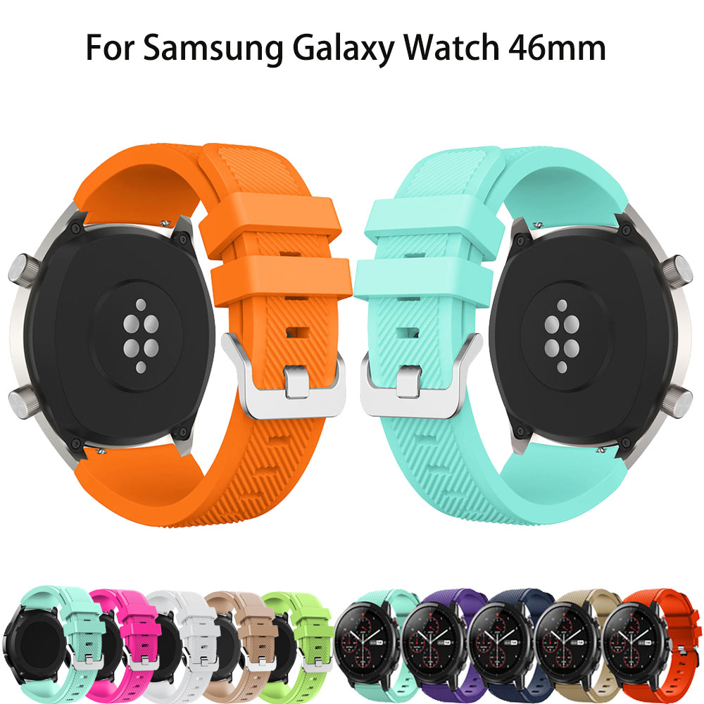 Gear S3 Frontier/Classic <font><b>Watch</b></font> Band 22mm Silicone Sport Replacement <font><b>Watch</b></font> <font><b>Smart</b></font> <font><b>Bracelet</b></font> <font><b>watches</b></font> Strap for <font><b>Samsung</b></font> Gear S3 image