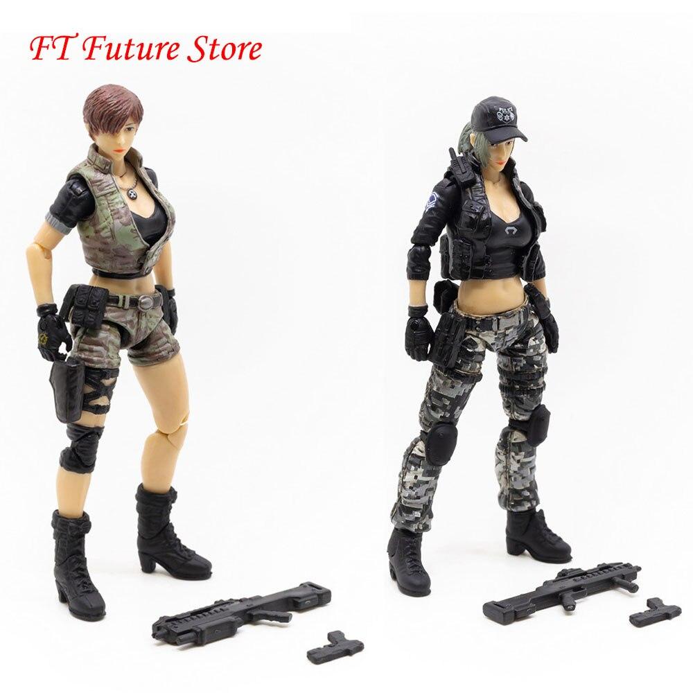 JOYTOY 1//18 Female Troops Fox Hunter Action Figures Us Seller