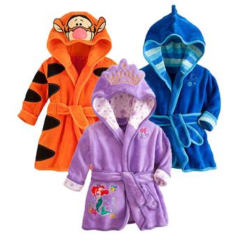 2020 Baby Sleepwear zimowe zestawy piżam dla dzieci odzież bawełniana Baby Girl odzież wiosna Baby Boy bielizna nocna kombinezony dziecięce tanie i dobre opinie spandex COTTON Cartoon Z kapturem Piżamy Unisex Pełna REGULAR 1-5 years old Pasuje prawda na wymiar weź swój normalny rozmiar