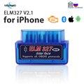 Автомобильный диагностический сканер ELM327 V2.1Full OBD2, Bluetooth для iPhone и Android, FasLink X, бесплатное обновление