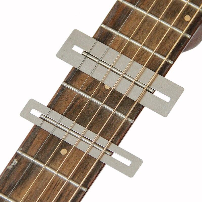 Guitar String Action Ruler Fret Protector Guards Sanding Polish Luthier Tool