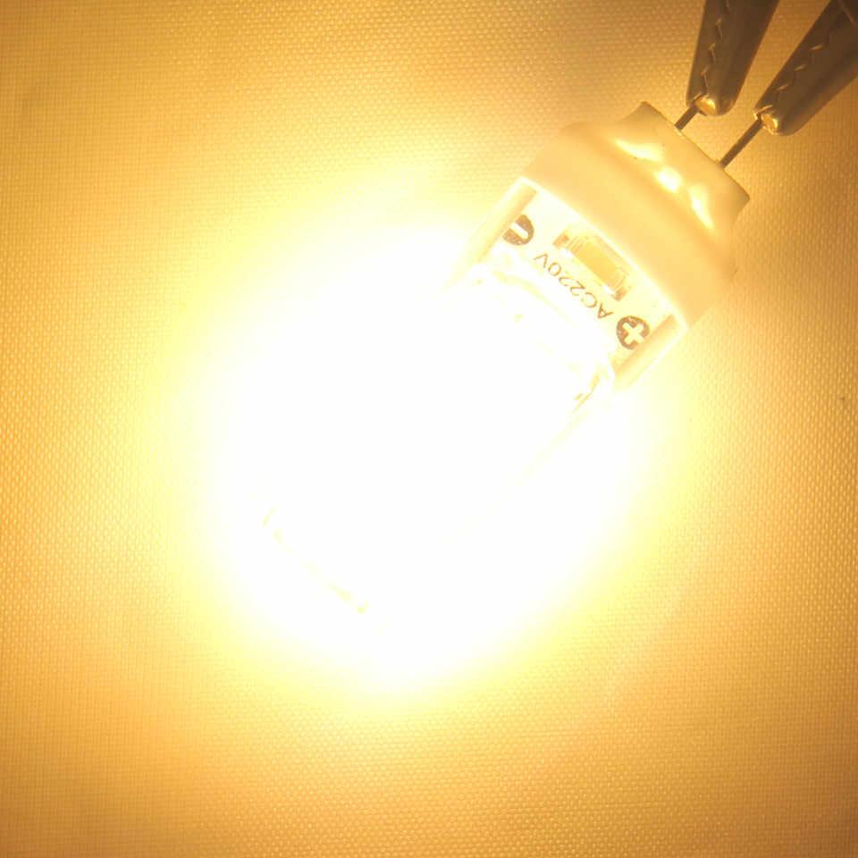 Светодиодный светильник G4 G9 5 Вт 110 В 220 В COB лампа теплая белая домашняя хрустальная люстра лампа