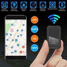 Drahtlose WIFI GPS Auto Tracker Echt-zeit GF22 GPS Magnetische GPRS Tracker Auto Lkw Fahrzeug Locator Anti-verloren gerät Mini Präzise