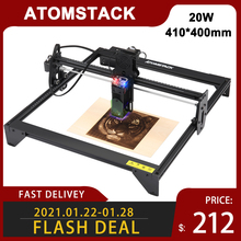 ATOMSTACK A5 20W Laser Engraver CNC 410*400mm Carving Area DIY Engraving Cutting Machine
