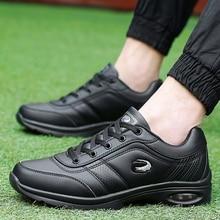 Мужские кроссовки для гольфа, удобные, дышащие, большие размеры 38-46, спортивные кроссовки для гольфа, черные, коричневые, Нескользящие, уличная спортивная обувь для мужчин