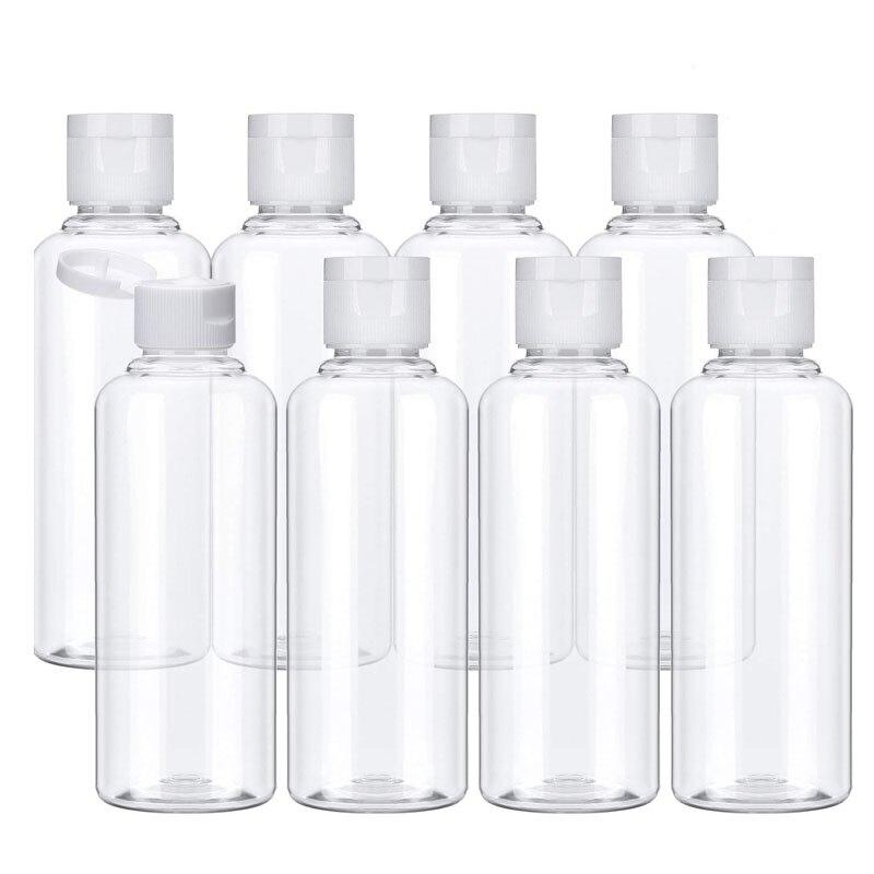 20Pcs Kunststoff shampoo flaschen 10/30/50/60/ 100ml Kunststoff Flaschen für Reise Behälter für Kosmetik Lotion