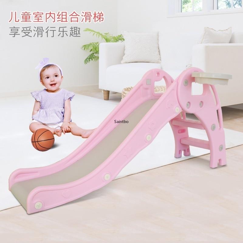 Children's Slide Room Household Baby Up And Down Folding Slide Children's Small Playground Plastic Slide For Children
