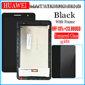 Image 1 - For Huawei MediaPad T2 7.0 LTE BGO DL09 BGO L03 BGO L03A LCD Display and with Touch Screen Digitizer Assembly