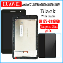 Huawei 社 MediaPad T2 7.0 LTE BGO DL09 BGO L03 BGO L03A Lcd ディスプレイとタッチスクリーンデジタイザ国会
