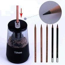 Tenwin デュアルパワー多機能自動電子電動鉛筆削り機械式 usb 子供のための材料アブラソコムツ 8008