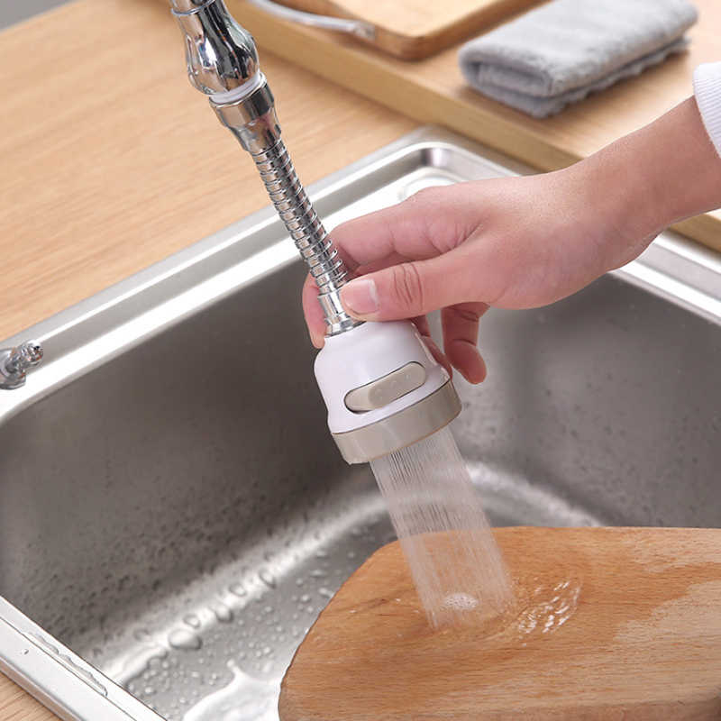 Kitchen Faucet Rotatable Nozzle Faucet Moveable Head Tap Anti Splash Adjustable Booster Water Saving Faucet Kitchen Accessories