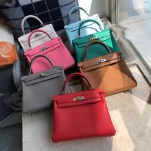 2019 luxury handbags woman bags designer genuine leather runway female Europe