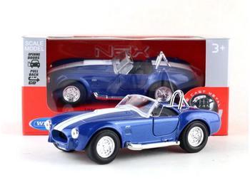 136 Ford Shelby ze stopu 427 samochód z napędem pull back model, klasyczny samochód klasyczny zabawki dla dzieci, kolekcja ozdoby, darmowa wysyłka