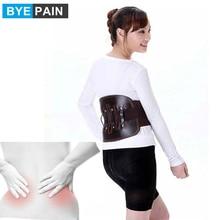 BYEPAIN หนัง Lower Back BRACE บรรเทาอาการปวดเอวสนับสนุนเข็มขัดสำหรับผู้หญิงผู้ชาย ปรับสายรัดเอวตะโพก,scolios
