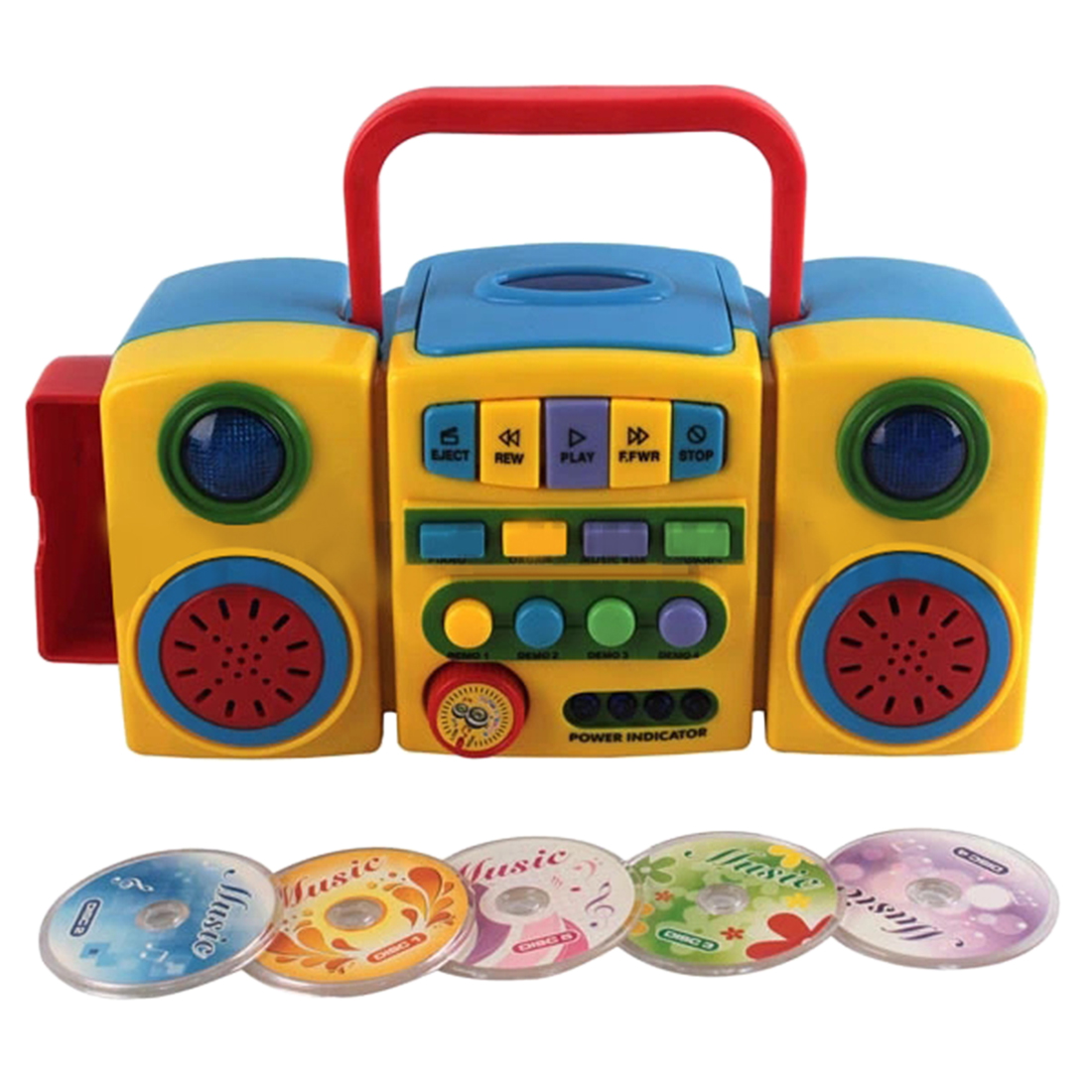 Kids CD Player Learning Player Educational Musical Toy Boys Girl Gift Toys Musical Instrument Interactive Toy For Children Kids