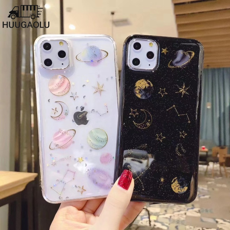 for Xiaomi Redmi Note 8 5 7 Pro Glitter Star Case Soft Silicone Cover for Xiaomi Mi A2 A3 6X 8 9 SE Lite Note 10 Redmi 5 Plus