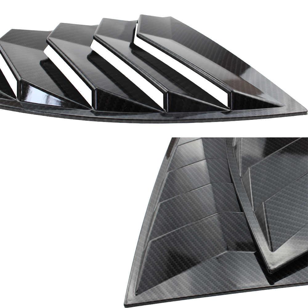 を gm 窓ルーバー 2 ピース/セットスポイラーパネルサイオン frs スバル brz 用トヨタ 86 GT86 2013-2018 abs ステッカー