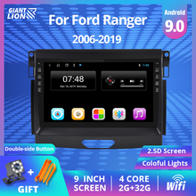 2Din Android 9 0 Car Radio For Ford Ranger 2016 2017 2019 Car Multimedia Video Player Radio Stereo GPS Navigation Car DVD Player cheap TIEBRO CN(Origin) Double Din 50*4 Android 8 1 JPEG electronic 1024*600 1 8kg Bluetooth Built-in GPS FM Transmitter Mobile Phone