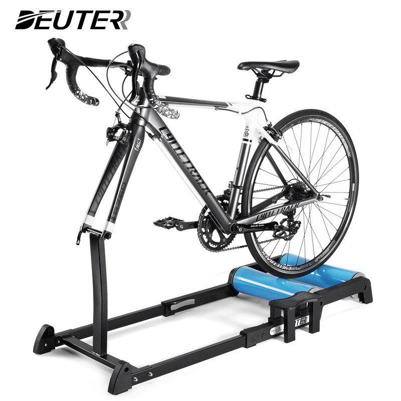 DEUTER Bike Trainer Rollers Indoor Home Exercise Cycling Training Fitness Bicycle Trainer For 24 - 29 Inch 700C MTB Road Bike Ro