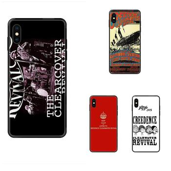 For Huawei P40 P30 P20 P10 P9 P8 Lite Plus Pro 2017 P Smart 2019 TPU Skin Painting Creedence Clearwater Revival image