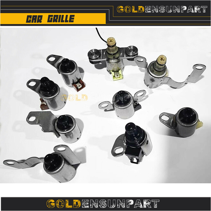 Transmission Shift Solenoid Gearbox Set Kit JF506E 09A For Volkswagen Jetta MK4 Metal Replacement Automatic Transmission & Parts(China)