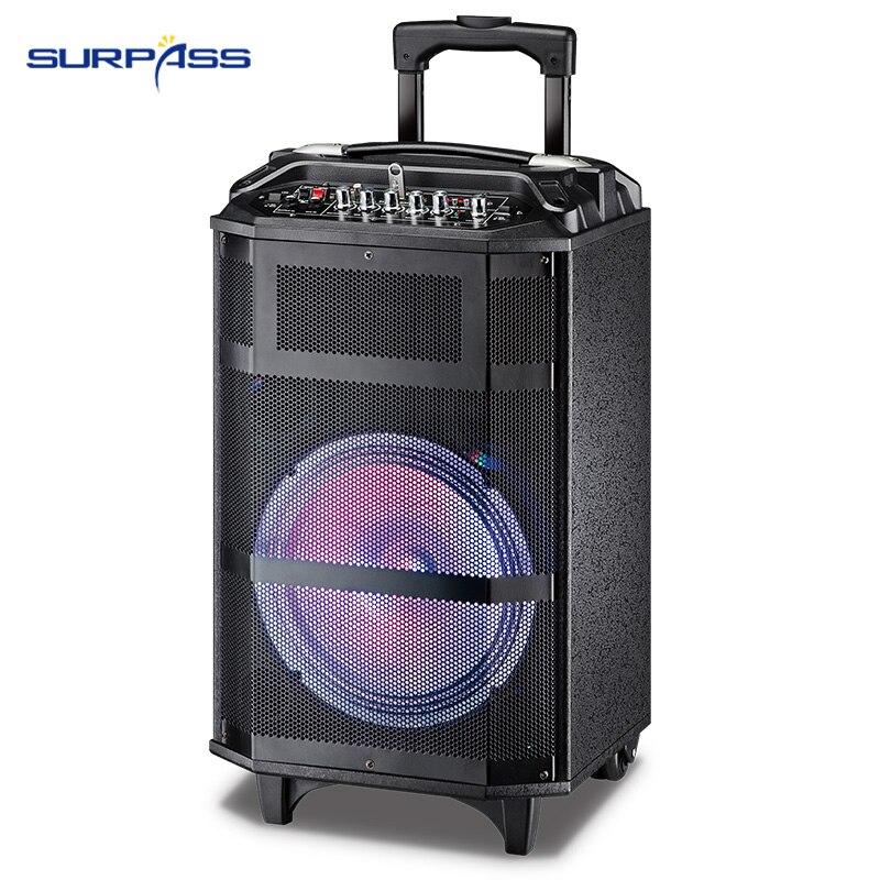 Аудио система звук активный MP3-плеер цифровой усилитель большой размер 10 дюймов громкоговоритель 150 Вт беспроводной портативный динамик с р...