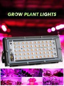 LED Grow Floodlight Seeding Flower Plants-Tent Light-Phytolamp Full-Spectrum-Lamp Outdoor