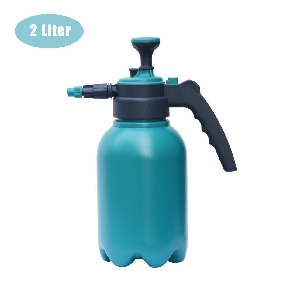 2L Watering Can Portable Garden Spray Bottle Kettle Plant Flowers Watering Tool Pressurized Sprayer Gardening Tool Fertilizing